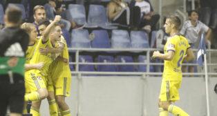 El Cádiz CF eliminó al Tenerife en la segunda ronda de la Copa del Rey.