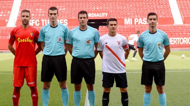 Díaz de Mera pitó el Sevilla Atlético 3 Cádiz CF 3 de hace dos temporadas.