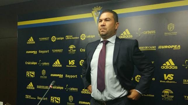 Juan Carlos Cordero fue destituido como director deportivo del Cádiz CF a comienzos de esta temporada.