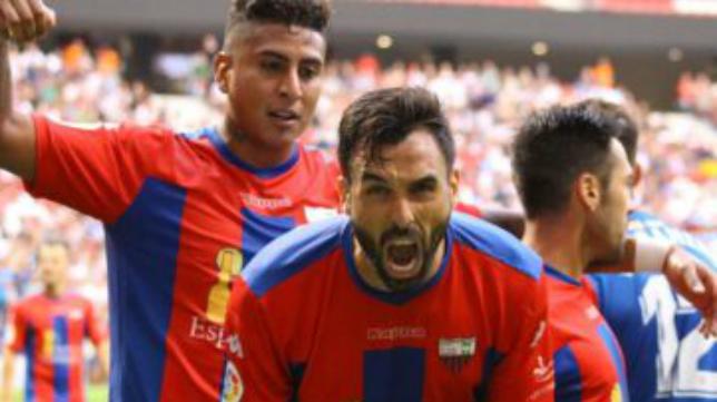 Enric Gallego llegó a despuntar en el Extremadura, de donde saltó a Primera.