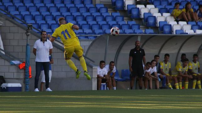 El Cádiz CF B comenzó el campeonato con una derrota en Lucena. Foto: Cádiz CF.
