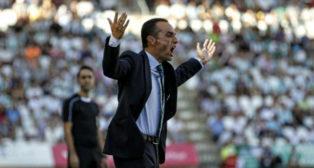 José Luis Oltra, entrenador del CD Tenerife.