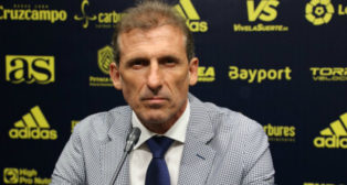 Óscar Arias, director deportivo del Cádiz CF. Foto: Cádiz CF.