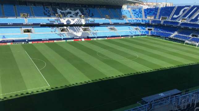 La Rosaleda será testigo del Málaga-Cádiz CF.