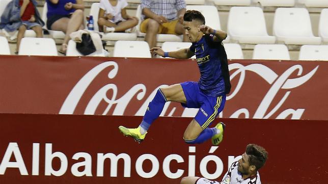 El Cádiz CF causó una buena sensación en Albacete.