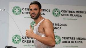 Sergio Sánchez, en una prueba física.