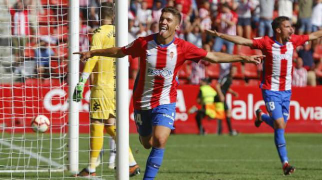 El Sporting es por ahora el líder de LaLiga 123.