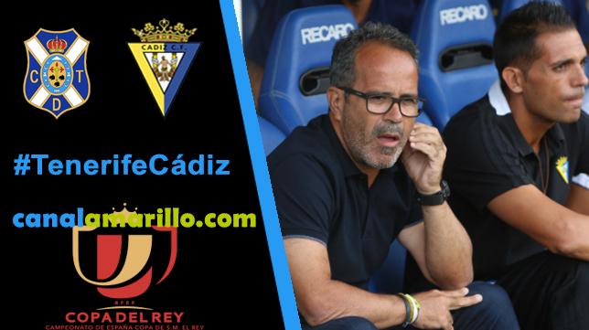 Tenerife y Cádiz buscan otra ronda de Copa del Rey