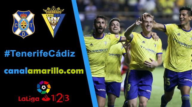 El Cádiz quiere resucitar en Tenerife