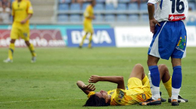 Lucas Lobos se lesionó en la segunda jornada de Liga tras un gran arranque liguero.