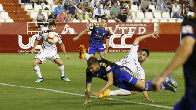 Carrillo fue incapaz de superar a Tomeu Nadal.