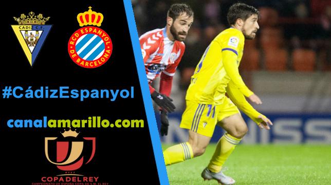 Cádiz CF y Espanyol se ven las caras en Copa del Rey