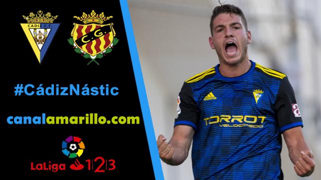 El Cádiz CF quiere resucitar ganando al Nástic en Carranza