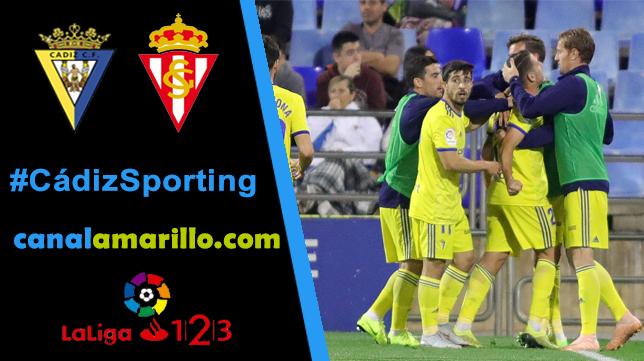 Ganar en Carranza, objetivo del Cádiz CF ante el Sporting