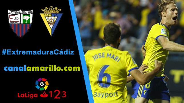El Cádiz quiere ganar en Almendralejo