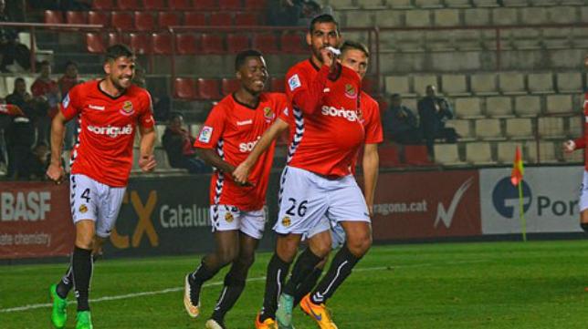 Fali, nuevo centrocampista del Cádiz CF. Foto: Nástic de Tarragona.