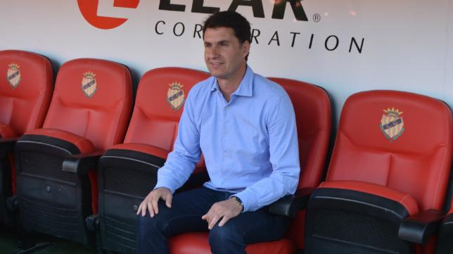 José Antonio Gordillo, entrenador del Nástic. Foto: Nástic de Tarragona.