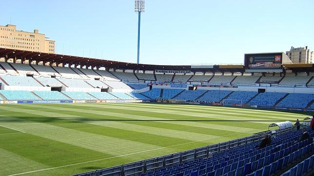 Estadio La Romareda.