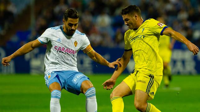 El Zaragoza volverá a jugar ante el Cádiz CF esta temporada.