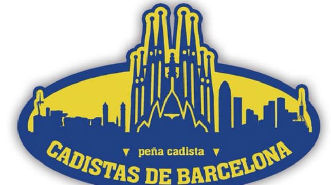 Logotipo de la nueva peña cadista en Barcelona.