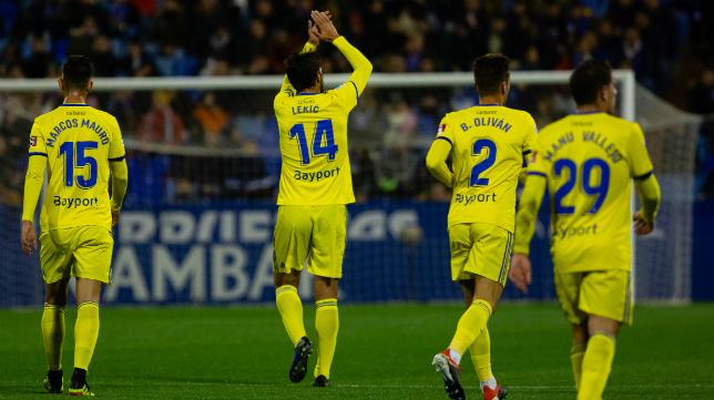 El Cádiz CF ganó otra vez en La Romareda al Zaragoza.