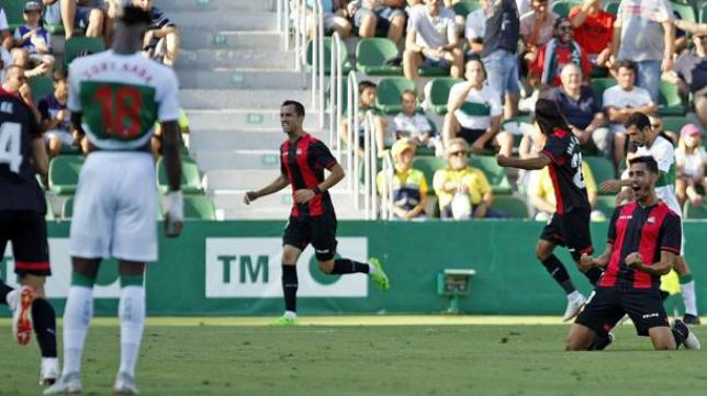 El Reus ganó esta temporada en el Estadio Martínez Valero al Elche (0-2).