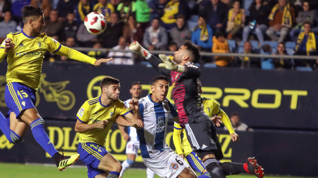 Cádiz CF y Espanyol jugaron esta temporada en la Copa del Rey.