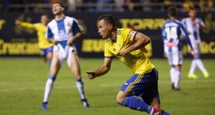 Karim ante el Espanyol