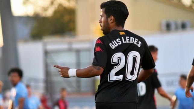 Gus Ledes no estará con el Reus en Cádiz.