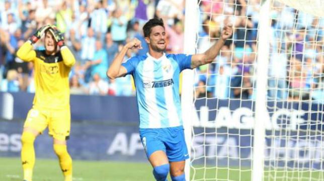 Adrián entra en la convocatoria del Málaga.