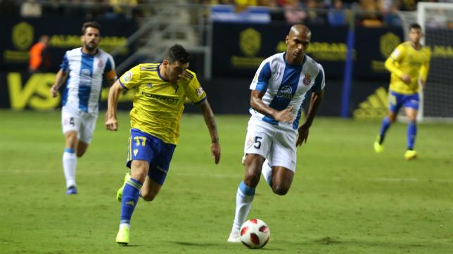 Naldo jugó la ida copera en el Ramón de Carranza.