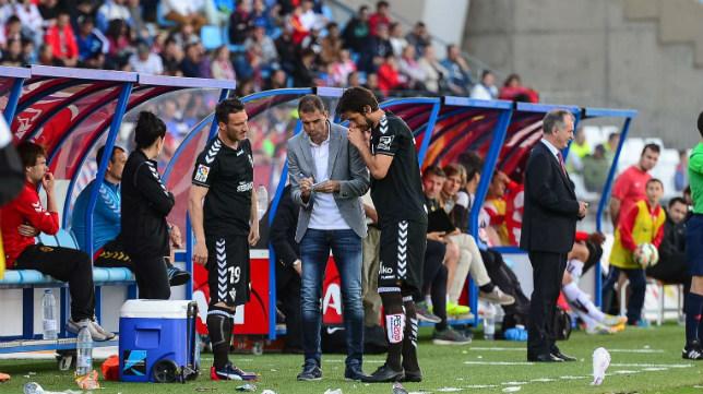 Piovaccari y Lekic, junto a Garitano, coincidieron en en la 2014/15 en el Eibar.