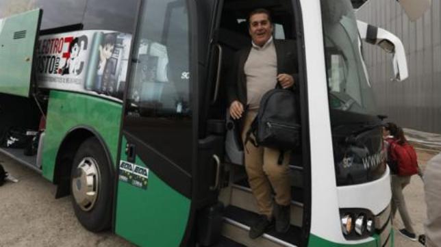 Sandoval, regresando de Mallorca.