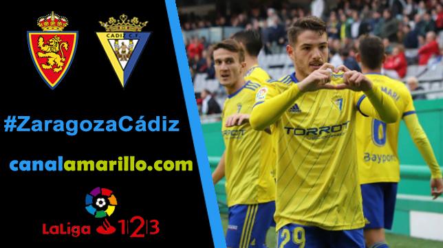 El Cádiz CF quiere seguir ganando en Zaragoza