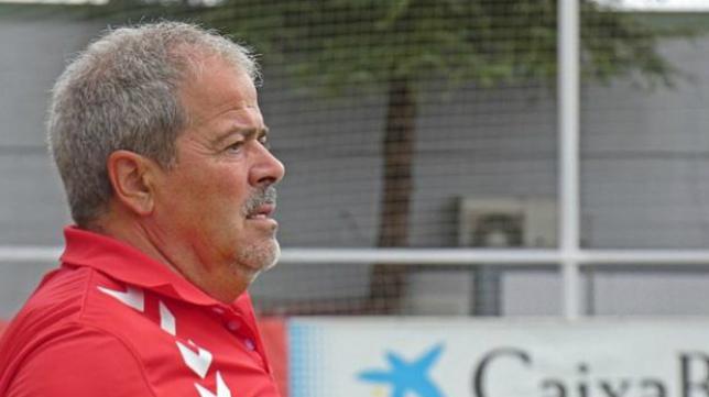 Antonio Iriondo, entrenador del Rayo Majadahonda.