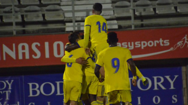 El Cádiz CF B ganó en el Nuevo Mirador al Algeciras esta temporada (0-1). Foto: Cádiz CF.