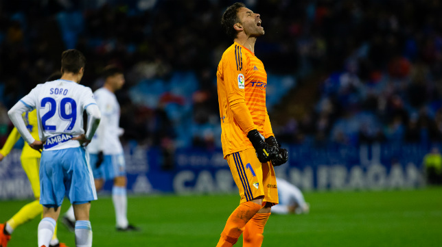 El Cádiz CF ganó en el partido de ida con gol de Lekic.