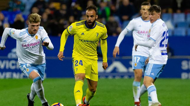 Edu Ramos fue el segundo cambio de Cervera.