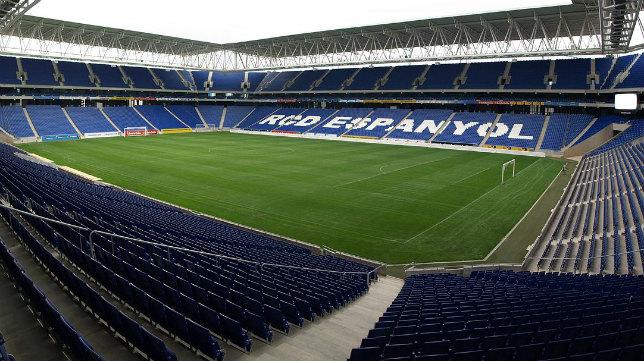El RCDE Stadium espera al Cádiz CF.