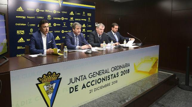 Pina ha dejado de ser consejero del Cádiz CF tras la Junta a la que ha acudido.