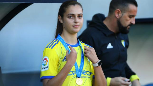 Teresa Mérida ya es campeona mundial Sub 17 con España.