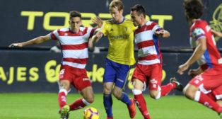 Granada y Cádiz CF empataron en Carranza en la ida.