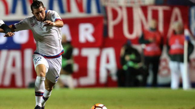 Espino, en un partido con Nacional.