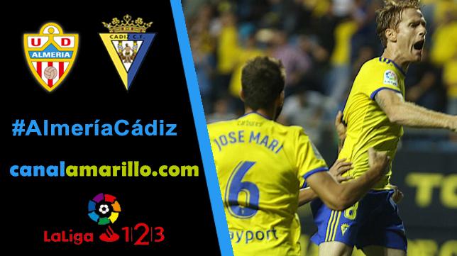 El Cádiz CF arranca la segunda vuelta en Almería