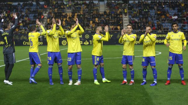 El Cádiz Cf ha terminado la primera vuelta con 33 puntos.