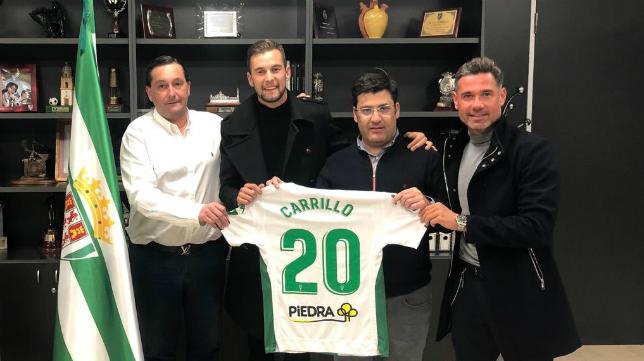 Carrillo, nuevo jugador del Córdoba.