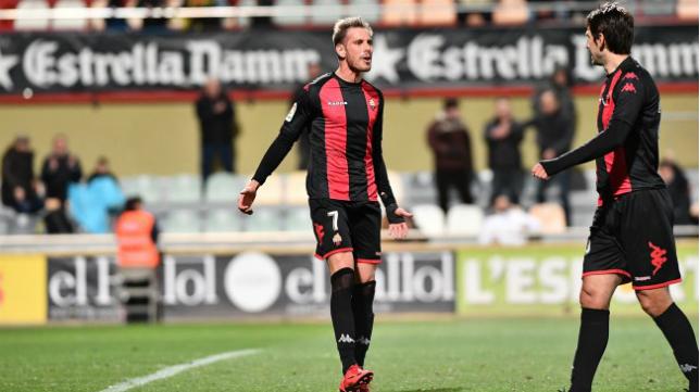 David Querol abandona el Reus. Foto: CF Reus.