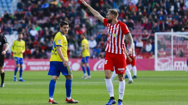 El Cádiz CF empató en Almería.