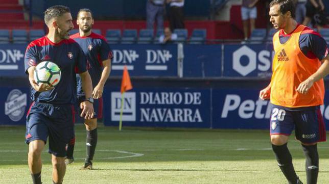 Pepe Conde trabajó en el Osasuna la campaña pasada.