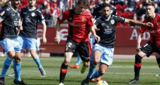El Mallorca ganó 3-0 al Lugo en Son Moix.